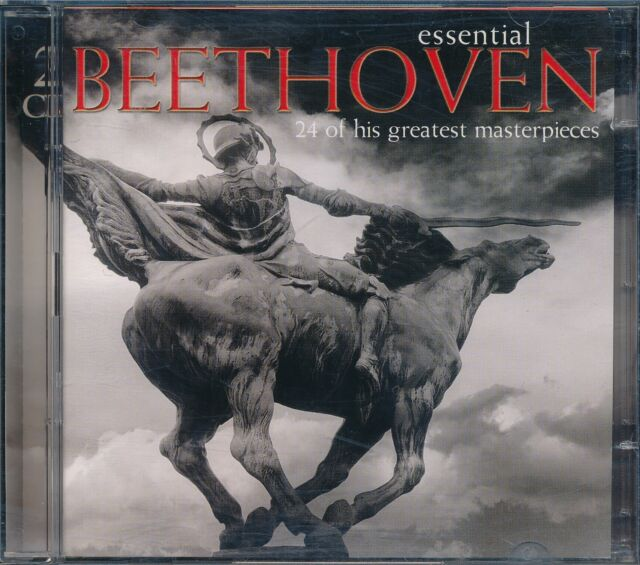 Essential Beethoven 24 Greatest Masterpieces CD NEW 2-disc Behrens Ashkenazy