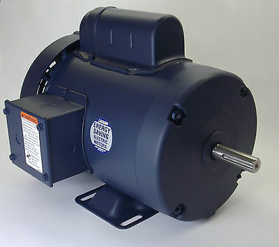 34 Hp 3450 Rpm 56 Frame 115230v Leeson Electric Motor Newfree Shipping