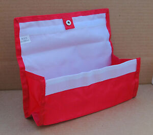 Red Deluxe Hannah Hansen Coupon Organizer Expandable w/ FREE Extra Organizer