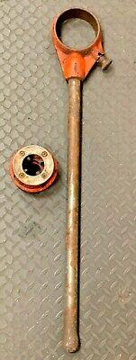 Ridgid 12r Pipe Threader With 1 Die Gc