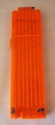 Nerf Orange 18 Round Max Dart Ammo Clip Magazine Replacement N-Strike