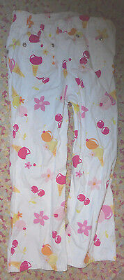 summer pants cherry ice cream  2002 line X-Large 6 years  (Ice Cream Girl Kostüm)
