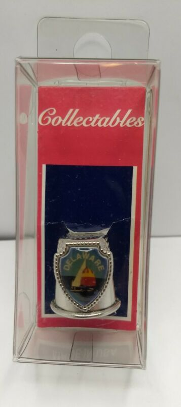 Delaware collectible thimble