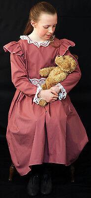 Edwardianisch / 1. Weltkrieg / The Great Krieg / Anne Grün Giebel Altrosa - Edwardian Kleid Kostüm