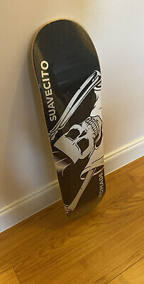 Suavecito OG Skateboard Deck (Black- Original) Limited!!! 100% Authentic!!