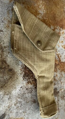 WWII BRITISH PISTOL HOLSTER P37 DATED 1943 FREE SHIPPING