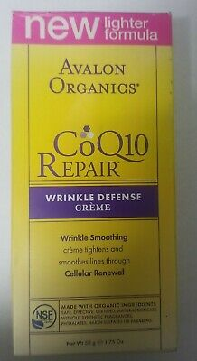 Avalon Organics CoQ10 Repair Wrinkle Defense Night Cream