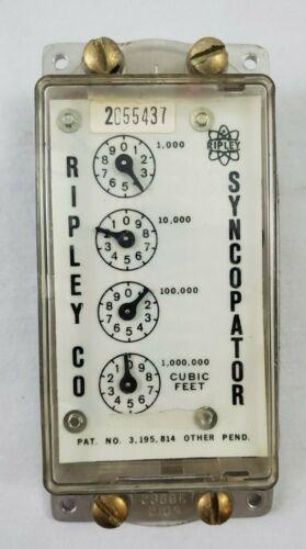 "VINTAGE Ripley Company USA Watt Hour Meter ""Syncopator"" #2055437"