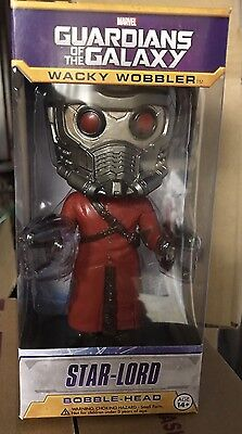 GotG Wacky Wobbler Star Lord Bobblehead for sale  Shipping to India
