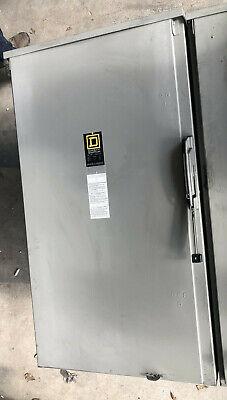 Square D Safety Switch Disconnect Hu365r 400 Amp 600 Volt Nema 3r
