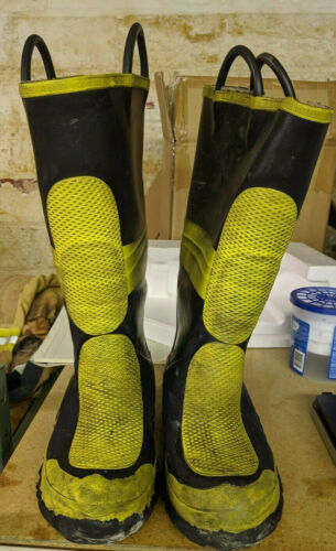 Morning Pride Fire Boots Size 8 Wide Width Used EMS EMT ER