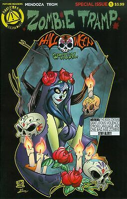 Special A Halloween (ZOMBIE TRAMP HALLOWEEN SPECIAL #1 COVER A MARCELO)