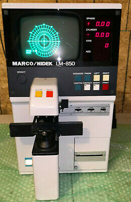 Marco Nidek Lm-850 Autolensometer Lm 850 Lensometer Auto Free Shipping Lensmeter