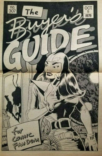 Buyers Guide For Comic Fandom #307 Oct 1979 Alan Light - Brad Caslos Cover - EX
