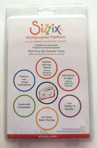 Sizzix Multipurpose Platform NEW UNOPENED