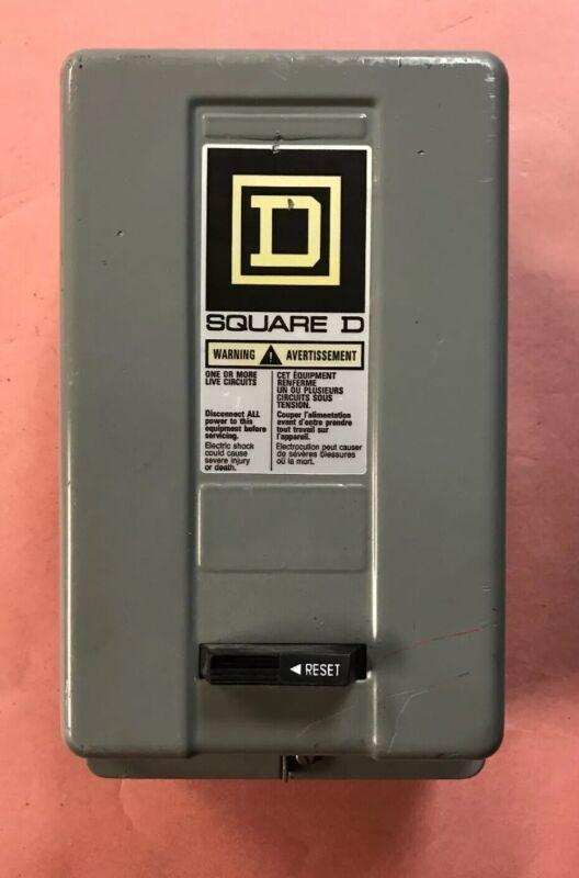 Square D  Size 00 NEMA 1 Motor Starter Class 8536