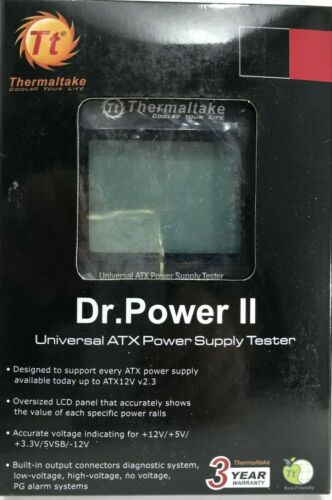 Thermaltake - AC0015 - Dr. Power II Fully Automated Power Supply Tester
