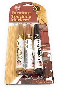 3 Furniture Touch Up Pen For Remove Marks Scratches Laminate Wood Floor Repair