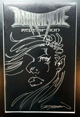 Darkchylde Redemption #1 Platinum Sketch Edition Original Randy Queen Art NM CGC