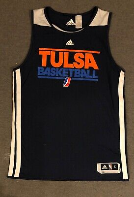 Adidas Tulsa 66ers NBA Courtside Climacool Practice Reversible Jersey LT