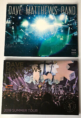 Dave Matthews Band 2010 + 2019 Summer Tour Photo Books Picture DMB (Warehouse Video)