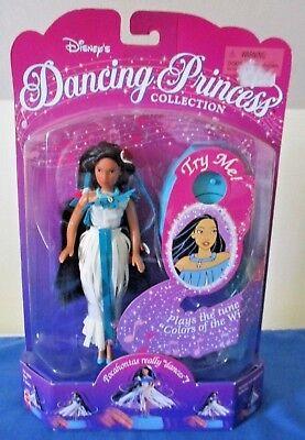 1996 Mattel Disney Dancing Princess POCAHONTAS Doll ~ Music & Motion ~New