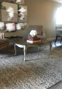REDUCED! Refinished Antique Coffee Table
