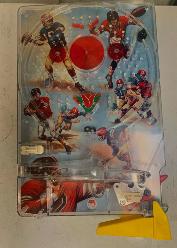 Pachinko Football Game, 1975 From Japan. Tested. Works. Rare!!!