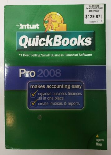 QuickBooks Pro 2008 (Includes Valid CD Key)