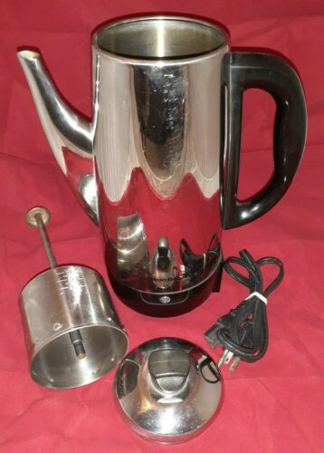 Hamilton Beach Electric 4 -12 Cup Coffee Pot Percolator # 40616