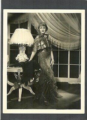 GREAT BILLIE BURKE GLAMOR + FASHION PHOTO BY RAY JONES - 1935 - GLINDA IN OZ