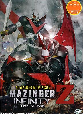 Mazinger Z DVD Infinity The Movie Anime - US Seller Ship FAST