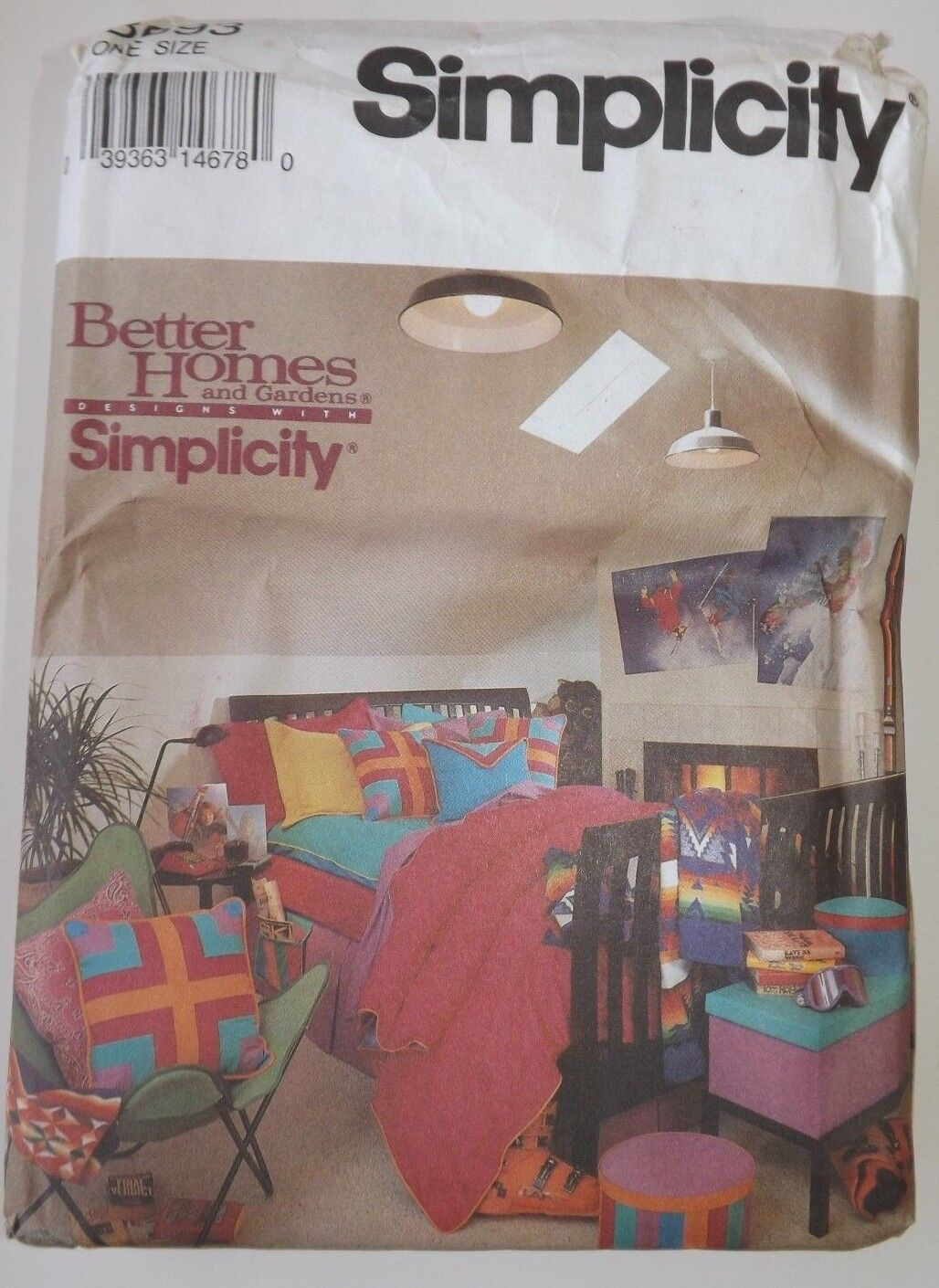 8693 sewing pattern bedroom home decor bed