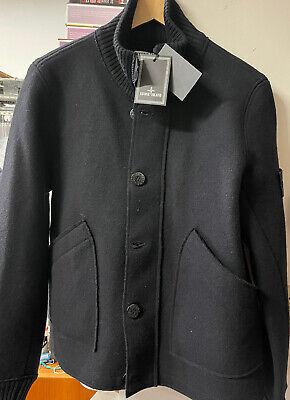 Black Island Wool Jacket Black - New