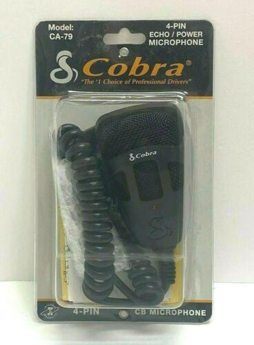 Brand New Cobra Model CA-79 4 Pin/ CB Power Microphone