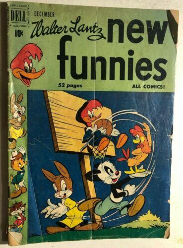WALTER LANTZ NEW FUNNIES #166 (1950) Dell Comics VG