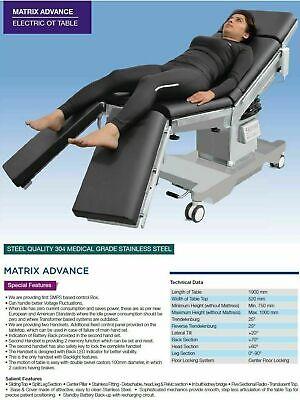 Electric Table Operating Table Sliding Top Split Leg Section Matrix A Advance S