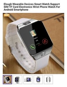 Apple & Android smart watches NEW