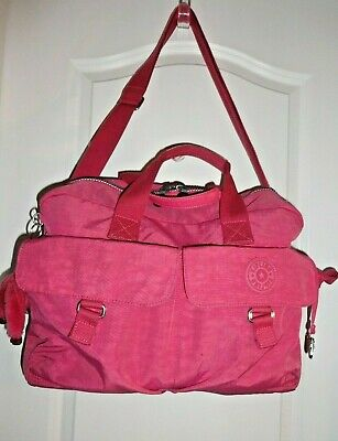 Kipling Pink weekend, Gym, Duffel diaper bag  large