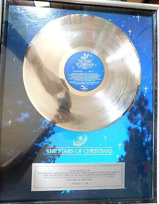 "Avon's Platinum album "" The Stars Of Christmas"" 1988"
