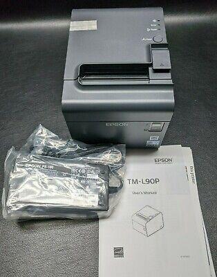 New Epson Tm-l90p Pos Thermal Receipt Printer Model M313a Parallel Usb