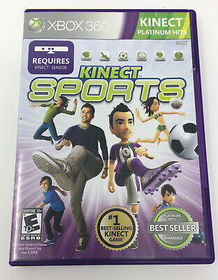 XBOX 360 Kinect Sports Platinum Hits Free Shipping, used for sale  Shipping to Nigeria