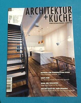 Architektur + Küche Einrichtungstrends Ausgabe 1/2018 ungelesen 1A abs. TOP