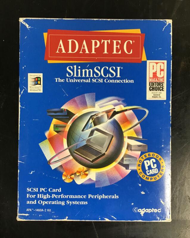 Vintage Adaptec APA-1460A-2 SlimSCSI PC Card