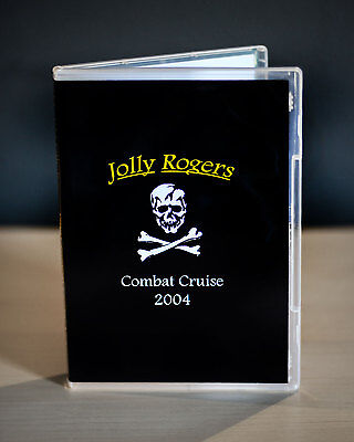 VF-103 Jolly Rogers Last F-14 Tomcat Cruise 2004 DVD Video *ORIGINAL*
