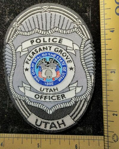 Pleasant Grove Utah Police Department Officer Patch