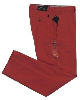 Polo Ralph Lauren Pony Flat Khaki Stretch Straight Fit Chino Pants 34 36 38 32