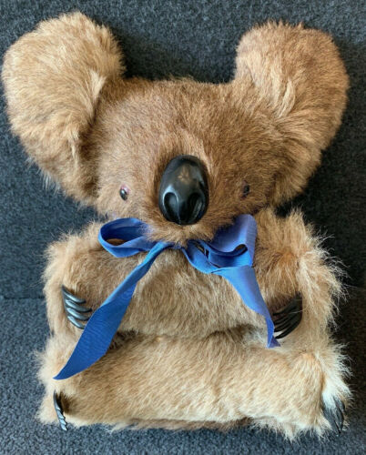 Vintage Koala Bear Real Fur 12 Inch