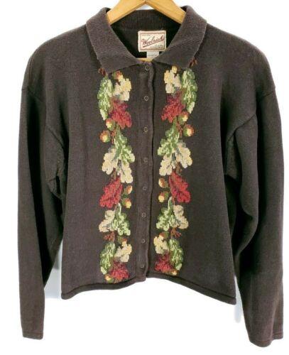 Woolrich Brown Cardigan Sweater Women