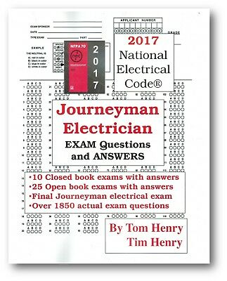 2017 Journeyman Exam Questions and Answers by Tom Henry Paperback – 2017